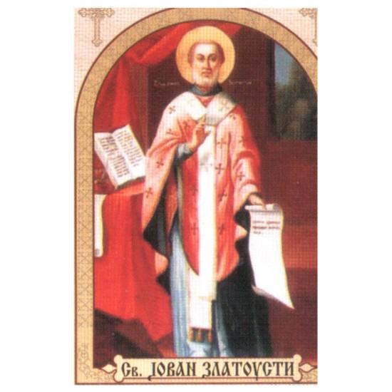 Sveti Jovan Zlatousti, ikone za sveće