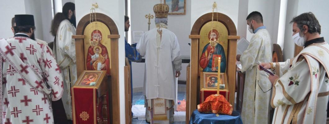 Osvećenje hrama, potrebni predmeti i postupak
