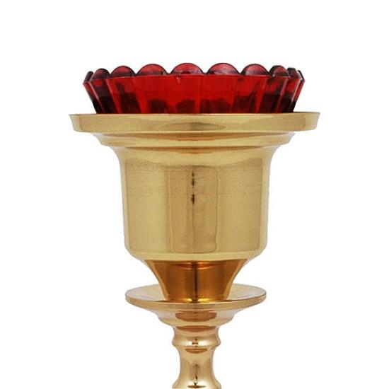 Kandilo oltarasko stono, mesingano