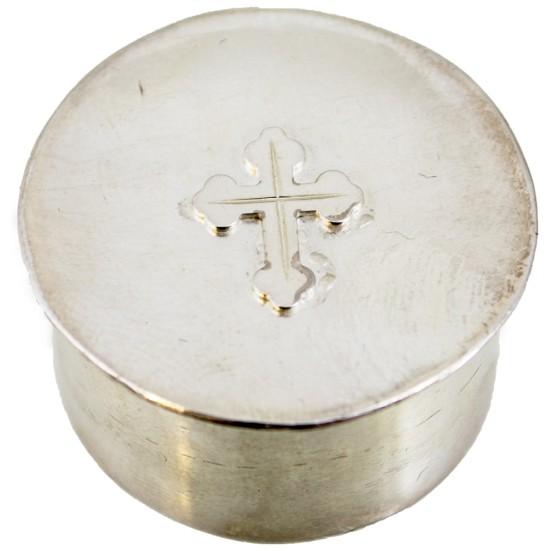 Srebrna kapsula za osvećenje crkve
