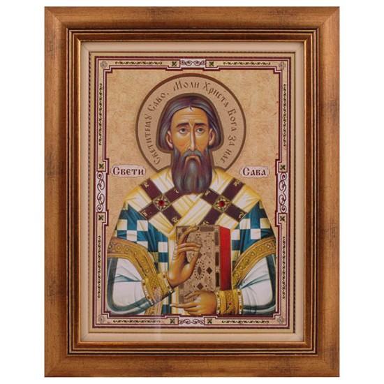 Sveti Sava (40x31) cm