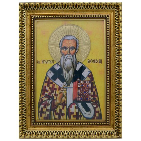 Sveti Ignjatije Bogonosac (39x30) cm