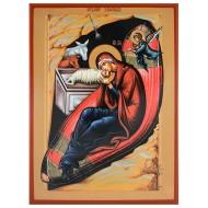 The Birth of Christ (32x22) cm