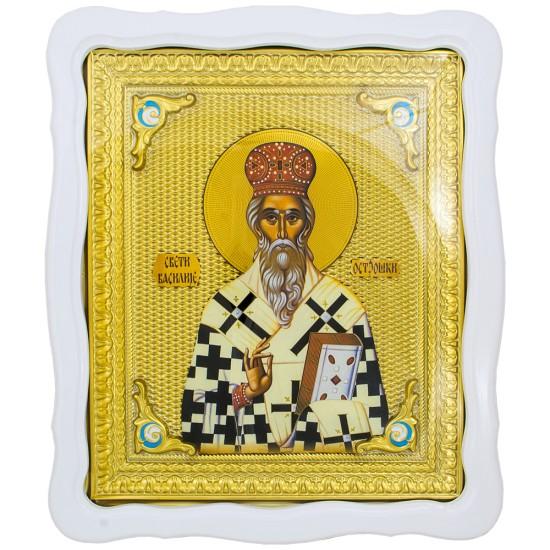 Sveti Vasilije Ostroški (48x42) cm