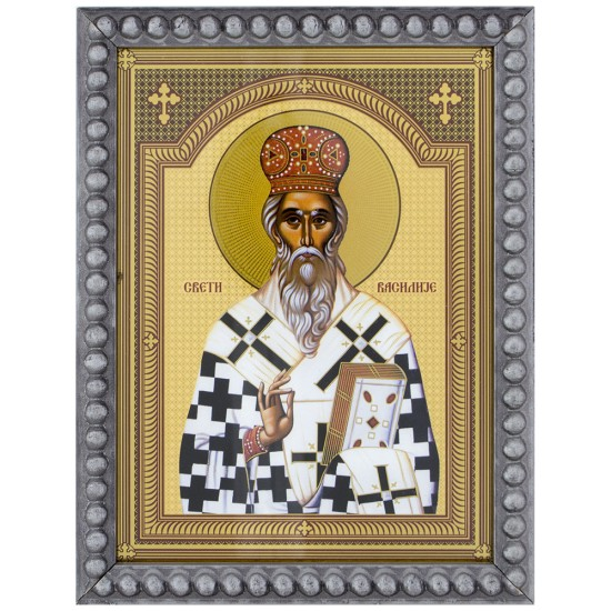 Sveti Vasilije Оstroški (15,5x12) cm