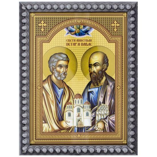 Sveti apostoli Petar i Pavle (15,5x12) cm