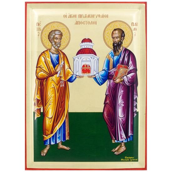 Sveti apostoli Petar i Pavle - Petrovdan (38x28) cm