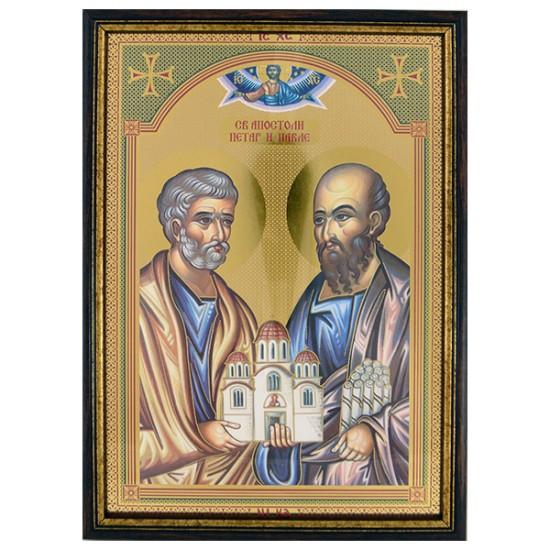 Sveti apostoli Petar i Pavle - Petrovdan (33x23) cm