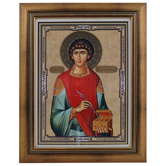 Sveti Pantelejmon (40x32) cm