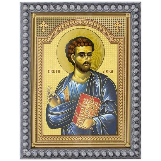 Sveti apostol Luka (15,5x12) cm