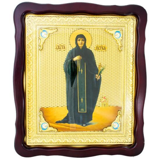 Sveti Petka (48x42) cm