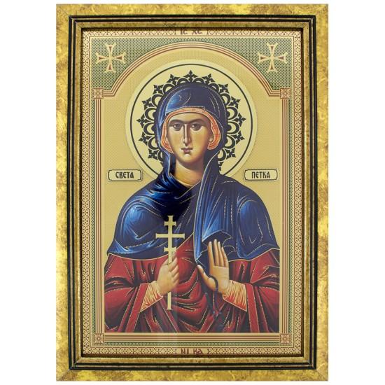 Sveti Petka (35x25) cm