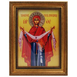 Shroud of the Holy Mother of God (38x30) cm