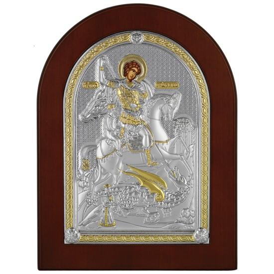 Sveti Georgije - Đurđic (24x18) cm