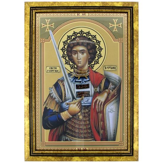 Sveti Georgije - Đurđic (35x25) cm