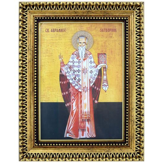 Sveti Avramije Zatvornik (39x30) cm
