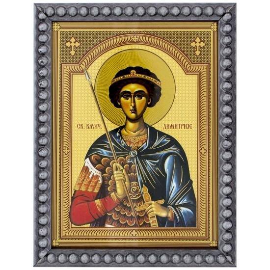 Sveti Dimitrije (15,5x12) cm