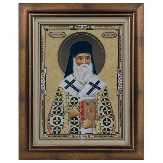 Sveti Nektarije Eginski (40x32) cm