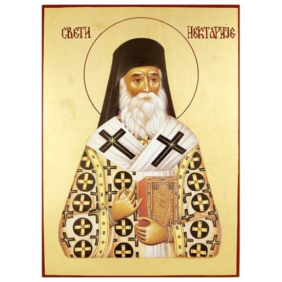Sveti Nektarije Eginski (34х 25) cm
