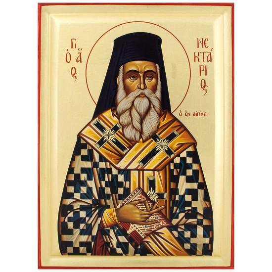 Sveti Nektarije Eginski (40х18) cm