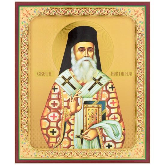 Sveti Nektarije (26x20) cm