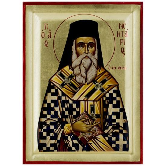 Sveti Nektarije Eginski (25x18.5) cm