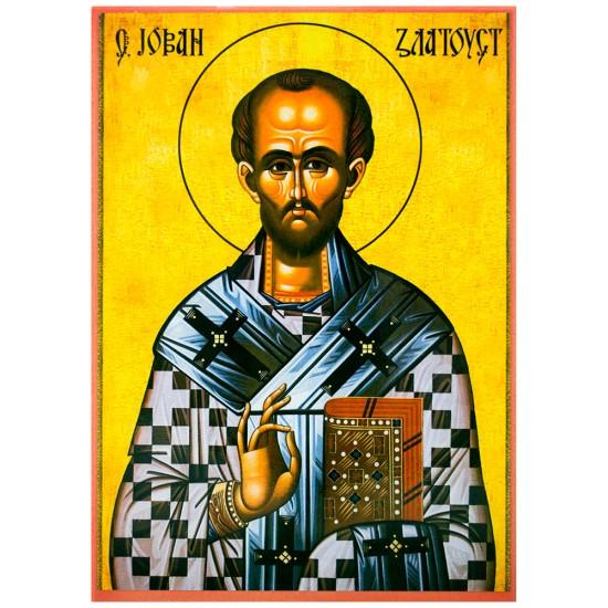 Sveti Jovan Zlatousti (33x21 cm)