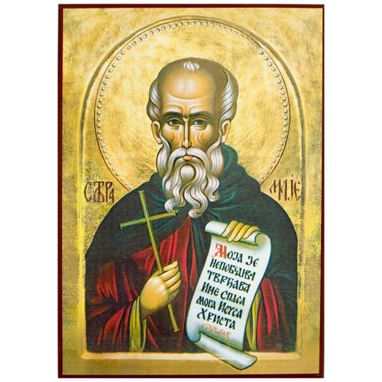 Sveti Avramije Zatvornik (33x24) cm
