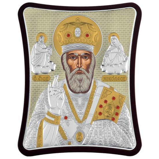 Sveti Nikola (20x16) cm