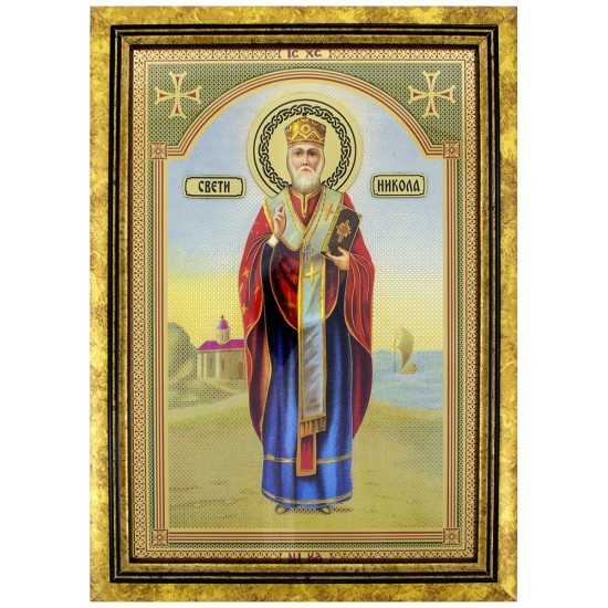 Sveti Nikola (35x25) cm