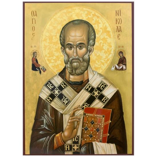 Sveti Nikola čudotvorac (30x20) cm