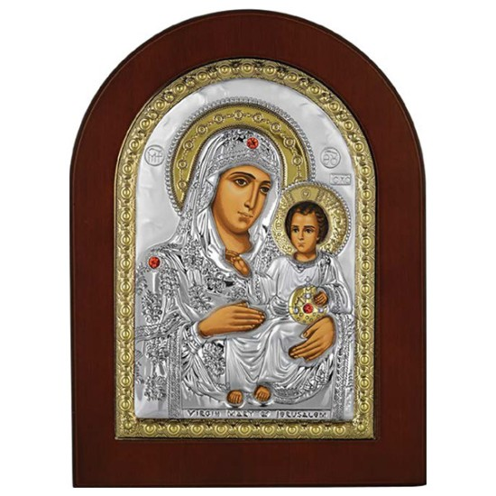 Virgin Mary of Jerusalem (33x25) cm