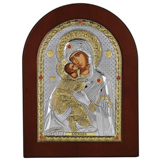 Virgin Mary of Vladimir (14x10) cm