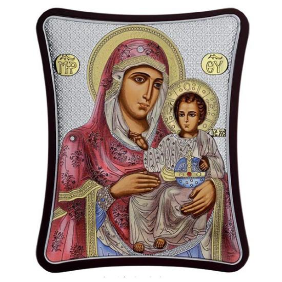 Virgin Mary of Jerusalem (20x16) cm