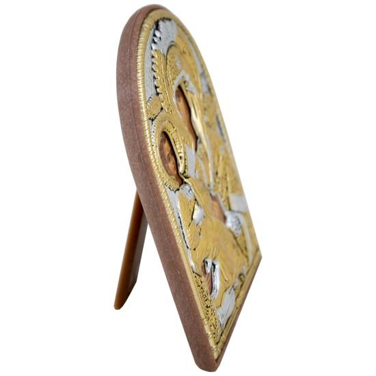 Presveta Bogorodica Trojeručica  (10x8,5) cm