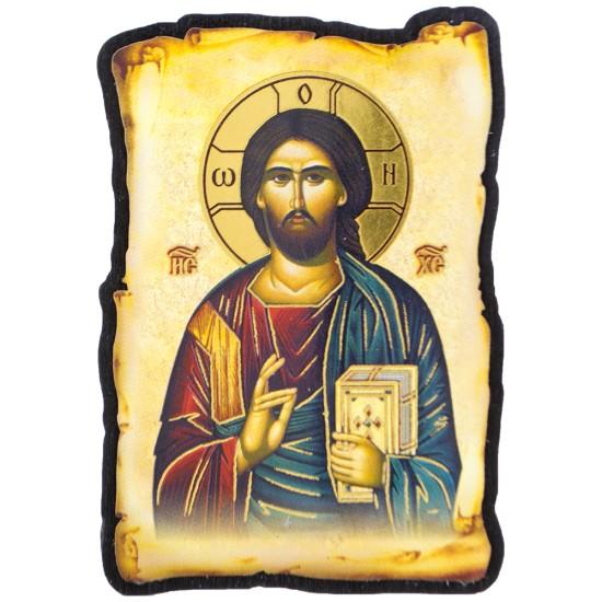 Gospod Isus Hristos (8x5) cm