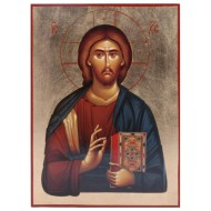 Icon with gold background (35x26 cm)