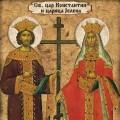 Sveti car Konstantin i carica Jelena (03.06.)