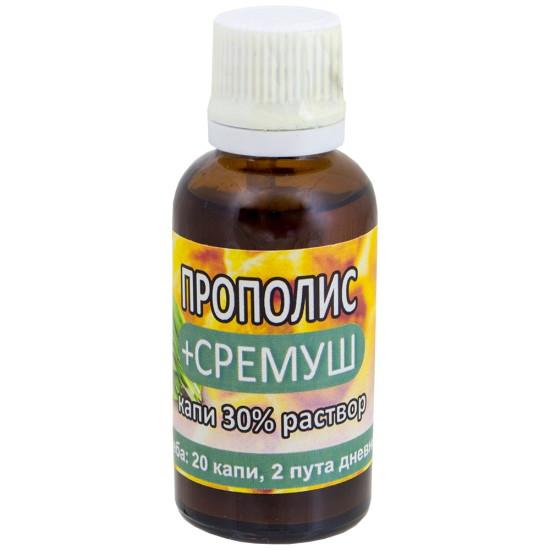 Propolis + Sremuš kapi 30% rastvor