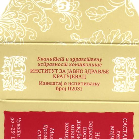 Manastirski melem za kožne bolesti Manastira Drača