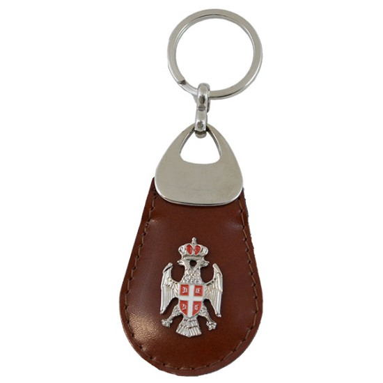 Privezak za ključeve, kožni