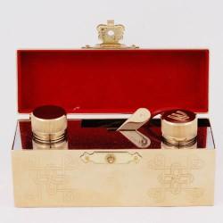 Baptism set - gold-plated