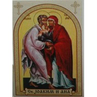 St. Joachim and Anne, icons for candles
