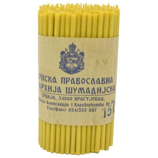 Sveće od pčelinjeg voska 150/1 (1kg)