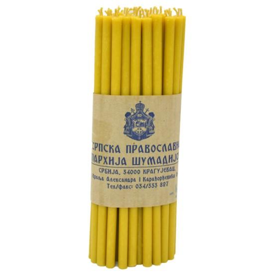 Sveće od pčelinjeg voska  50/1 (1kg)