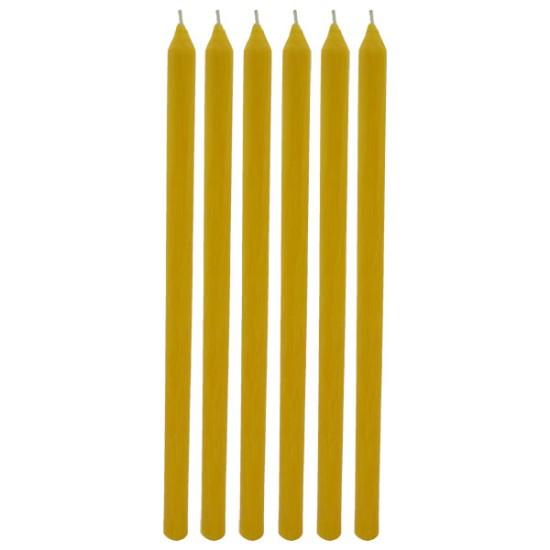 Sveće od pčelinjeg voska  6/1 (1 kg)